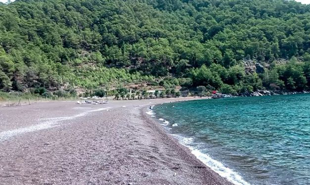 Where is the Ekincik Bay or Bacardi Bay? Ekincik Camping Area